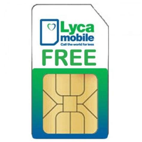 lycas mobile lycamobile free pay as you go sim card