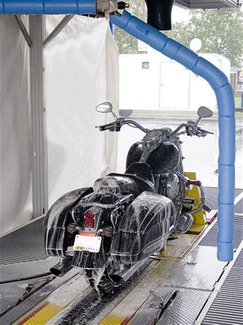 Motorrad Waschanlage by Touch Free Automated Motorcycle Wash Coming Soon