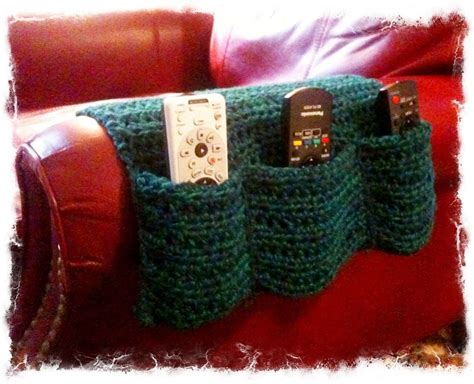 armchair remote caddy arm chair remote caddy crochet pinterest armchairs