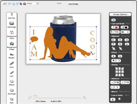 koozie design template images