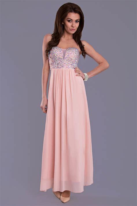 Plain Lola Dress 1 lola dress powder pink 8309 1