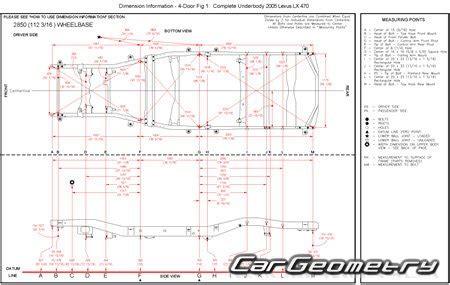 car repair manuals download 2007 lexus lx head up display размеры кузова lexus lx470 1998 2007 uzj100 collision repair manual