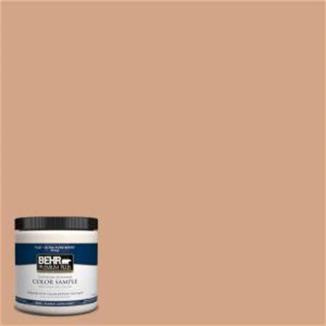 behr premium plus 8 oz 260f 4 sunset beige interior exterior paint sle 260f 4pp the home