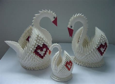quilling swan tutorial 10 best images about 3d origami on pinterest origami