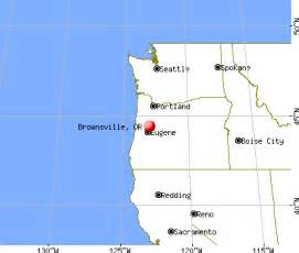 brownsville oregon or 97327 profile population maps