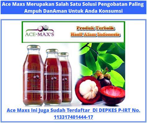 Vitamin Ace Maxs obat alami bab berdarah obat bab berdarah