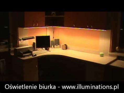 schreibtisch led beleuchtung praktyczne wykorzystanie taśmy led smd5630 oświetlenie