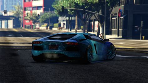 blue galaxy lamborghini blue galaxy livery for lamborghini aventador liberty