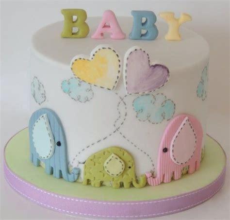 Ideias de bolo para chá de bebê