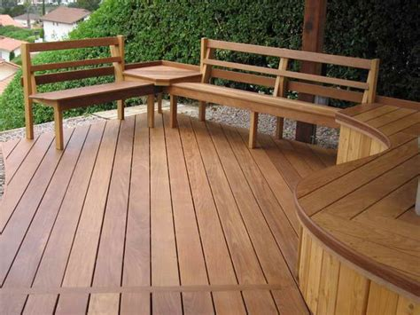 bench seating for decks planning ideas awesome deck bench plans with backs