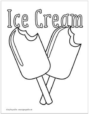 summer coloring pages  printable easy peasy  fun