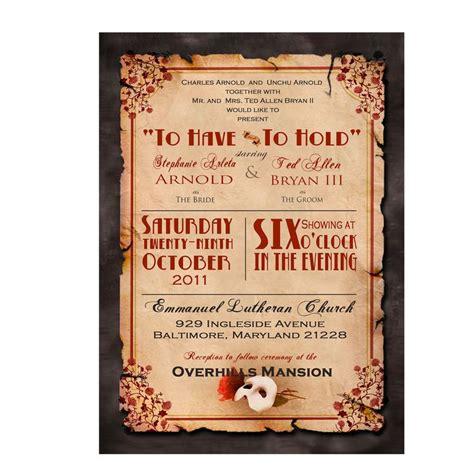 cute opera themes invitation ellie s phantom of the opera themed sweet 16