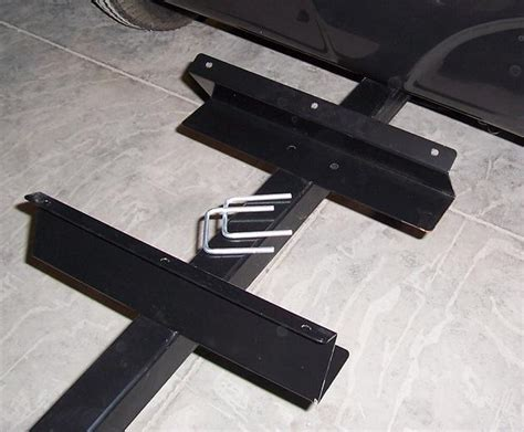 Trailer Tongue Rack by Motorcycle Towable Cargo Trailers