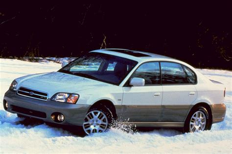 2000 Subaru Legacy Outback Limited by 2000 04 Subaru Legacy Outback Consumer Guide Auto