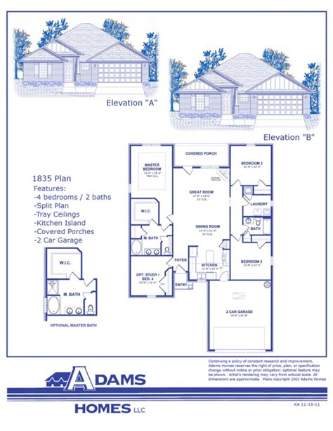 adams homes floor plans adams homes floor plans and location in jefferson shelby
