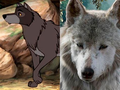 libro la loba de al raksha el libro de la selva compara los personajes cl 225 sicos con los de la nueva versi 243 n