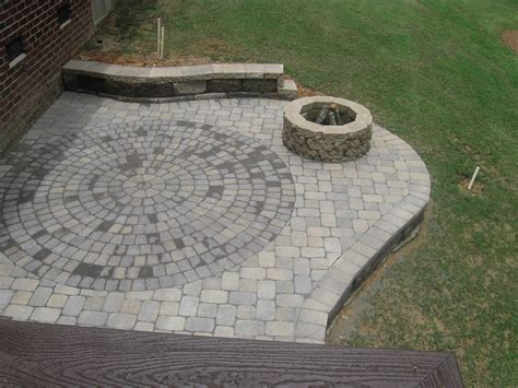 Outdoor Patio Firepit Types Of Brick Patio Designs To Make Your Garden More