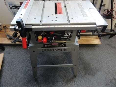 craftsman table saw 137 248481 craftsman 2 7 table saw espotted