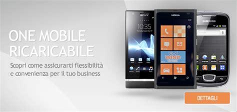 offerte wind business mobile wind one mobile ricaricabile per i clienti business io