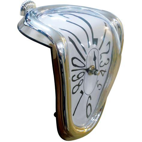 Melting Shelf Clock pin clock melting clocks painting salvador dali on