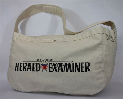 Big Bag Navi Edition sfv mercantile newspaper boy canvas bag los angeles herald examiner deluxe edition the san