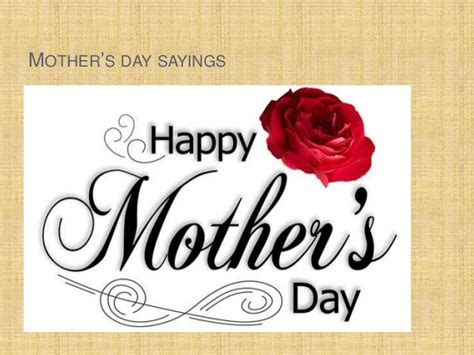 s day says best mothers day quotes
