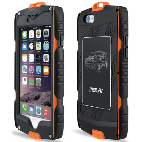 mblai waterproof case strong shockproof cover  iphone