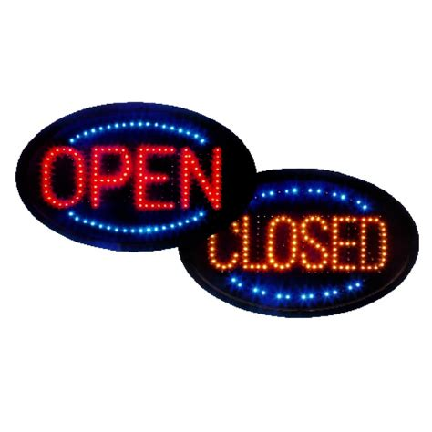 Led Sign Open led open sign also displays closed animated window sign