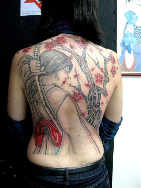tattoo design on back for female samurai tattoos designs ideas and meaning tattoos for you