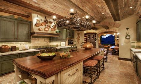 Rustic Cabin Plans Floor Plans beautiful tuscan style kitchen spanish style kitchens