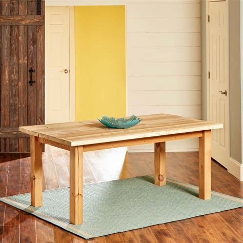 build  simple reclaimed wood table family handyman