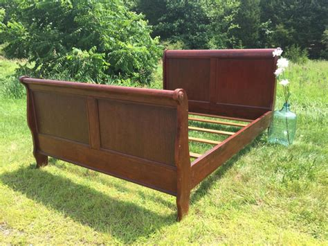 king sleigh bed frame variety designs sleigh bed frame doherty house