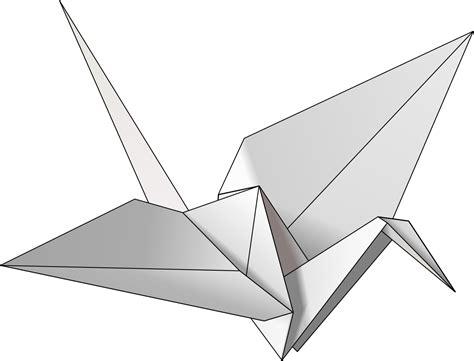Origami Crane Images - file origami crane svg simple the