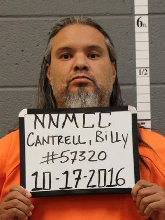 Mexico Arrest Records Billy Joe Cantrell Inmate 414002 New Mexico Doc Prisoner Arrest Record