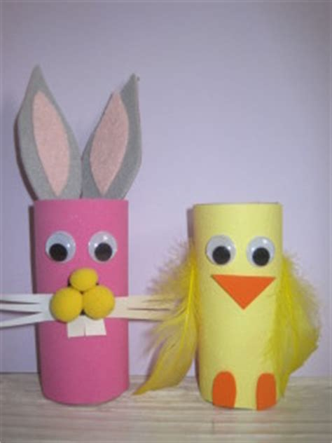 Easter Craft Ideas With Toilet Paper Rolls - easter craft for toilet paper roll easter bunny