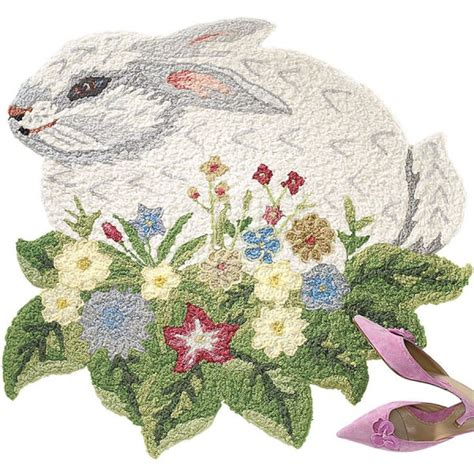 bunny rug 17 best images about for the home on clothing accessories mug and products