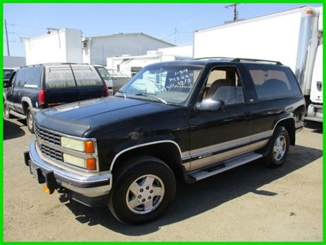 manual cars for sale 1992 chevrolet blazer electronic toll collection c 1992 chevrolet blazer cheyenne used 5 7l v8 16v manual suv no reserve classic chevrolet