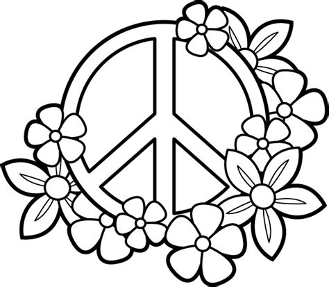 peaceful patterns coloring pages coloring pages for teens peace sign coloringstar