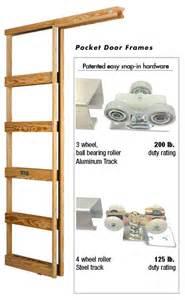 can pocket door frames be shortened