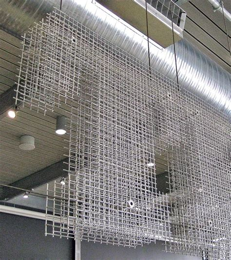 mesh interieur how to use wire mesh as an interior design material