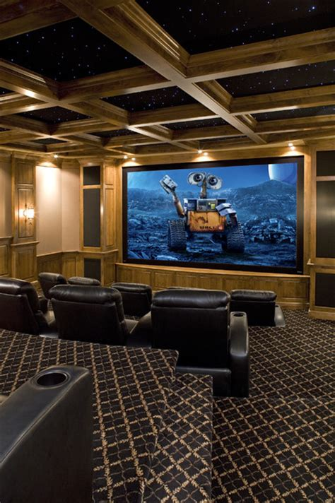 houzz media room theater traditional home theater minneapolis