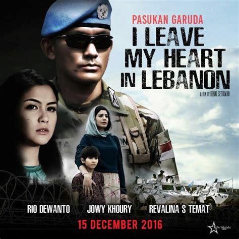 film boboho tentang tentara i leave my heart in lebanon film tentang kiprah tni di