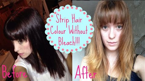 best colour to use on bleached hair to give low lights how to remove colour without bleach how i got from dark