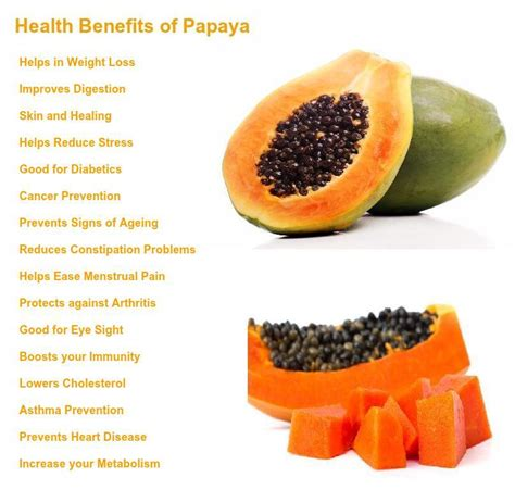Papaya For Health And image gallery health benefits of papaya