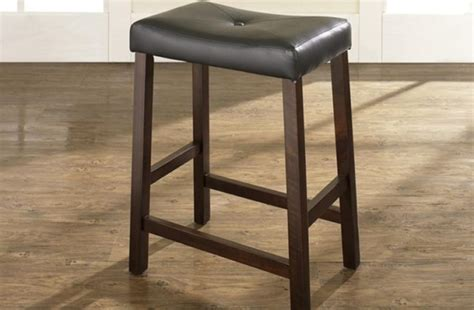 24 Inch Padded Saddle Bar Stools by 24 Inch Padded Saddle Bar Stools Home Design Ideas