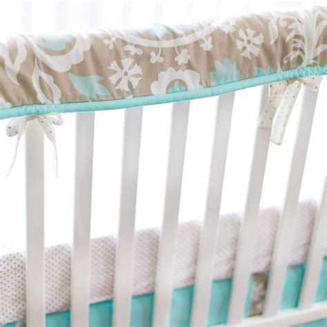 Crib Fence by Picket Fence Crib Bedding Set By New Arrivals Inc