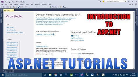 tutorial asp net web forms asp net vb net tutorials introduction to asp net web