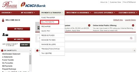 icici icici bank login icici netbanking how to add i sip urn number in icici