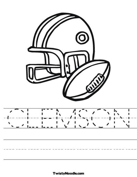 clemson tiger coloring page free coloring pages of tiger paw print