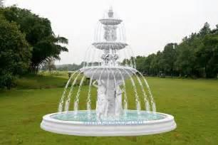 Outdoor Patio Fountain Marmorbrunnen U Garten Wasser Brunnen Foto Auf De Made In